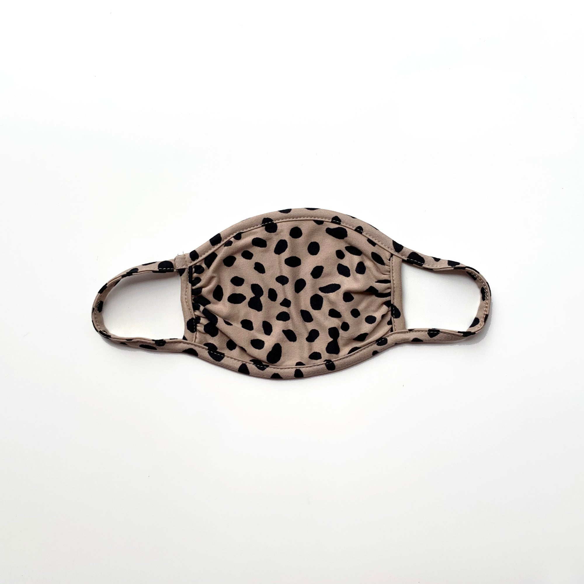 Youth Mask, Dalmatian Tan