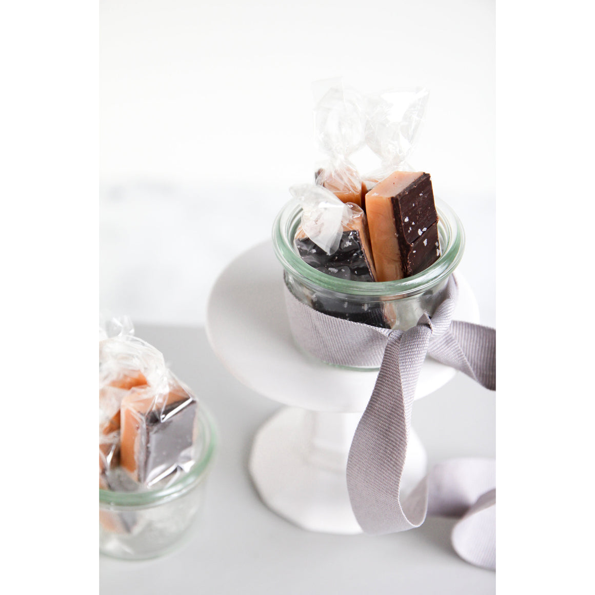 Caramel Caravan Co. - 4 Piece - Dark Chocolate Sea Salt Caramels