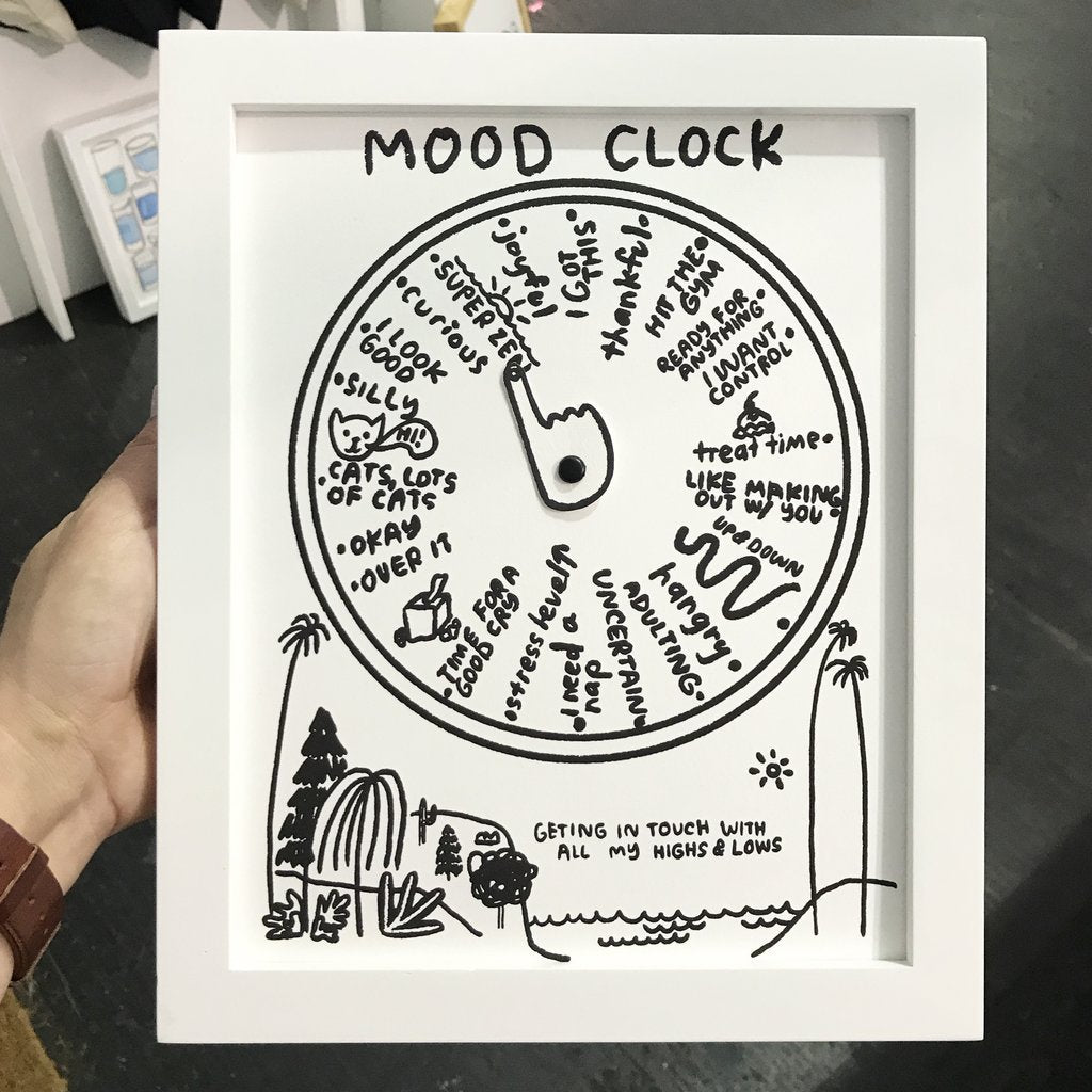 People I've Loved: Mood Clock Print