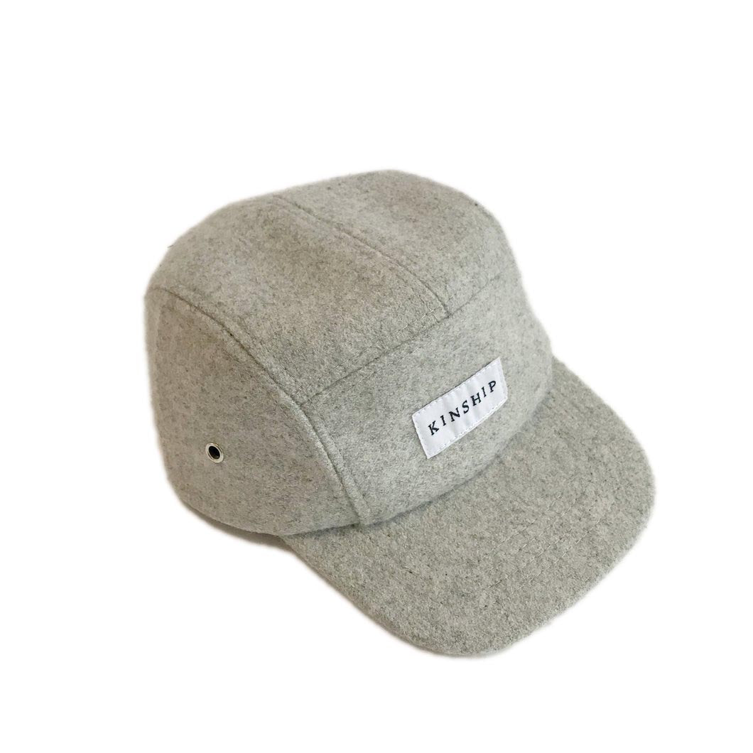 Kinship Cap Co: Wool 5 Panel Cap