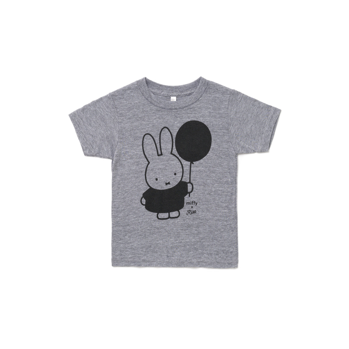 Miffy x Kira Balloon T-shirt, Heather Grey