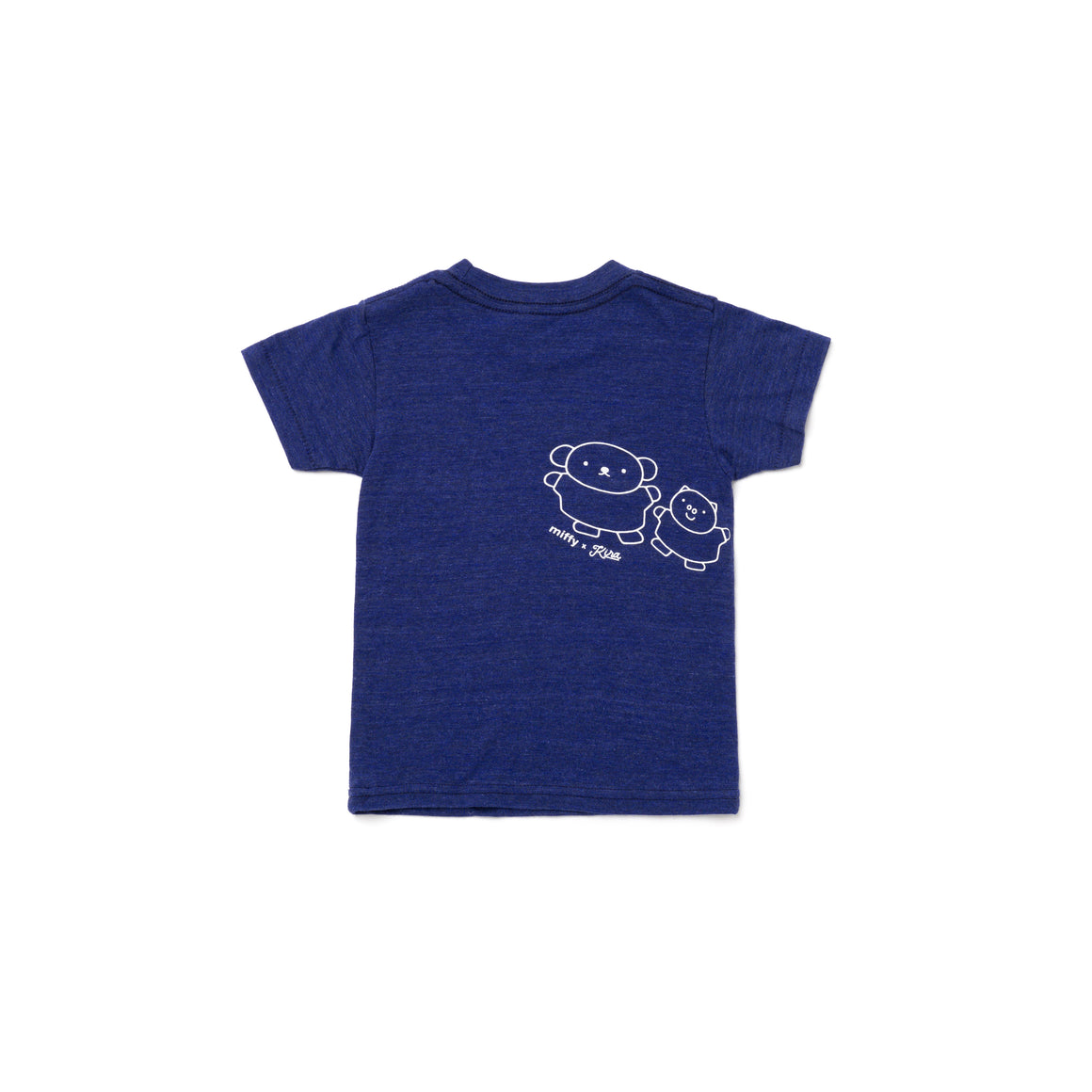 Miffy x Kira Friends T-shirt, Heather Indigo
