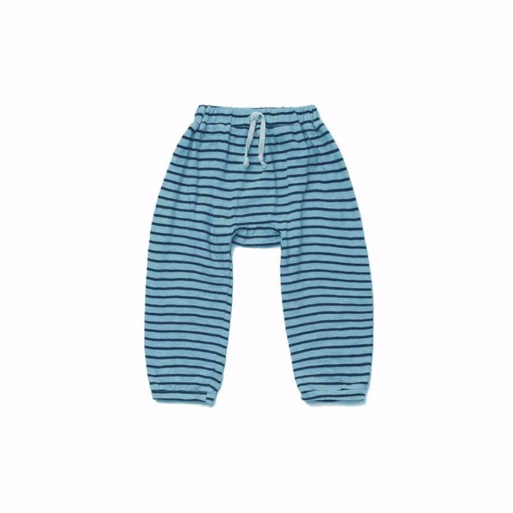 KiraKids x The Boss Baby, Striped Harem Pants, Turquoise