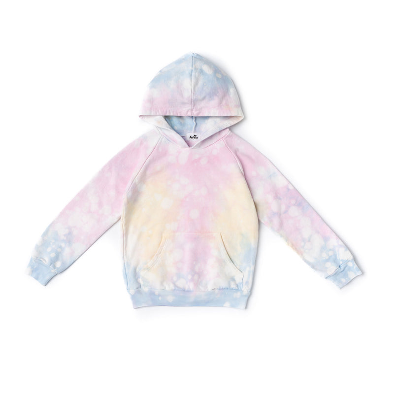 Shave Ice Tie Dye Hoodie with Pockets