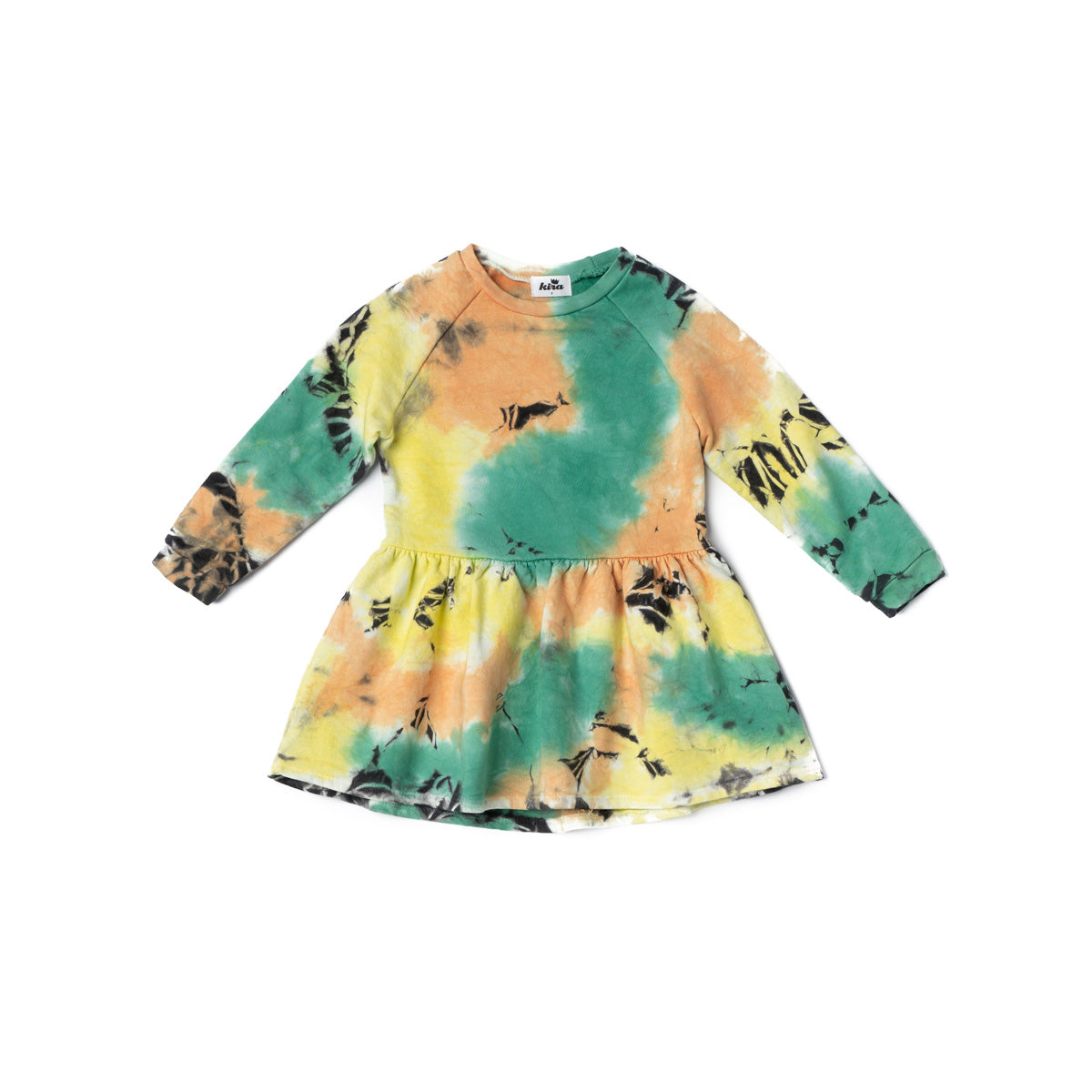 Stormy Tie Dye Sweatshirt Dress
