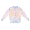 Adult Shave Ice Tie Dye Crew Neck Sweatshirt