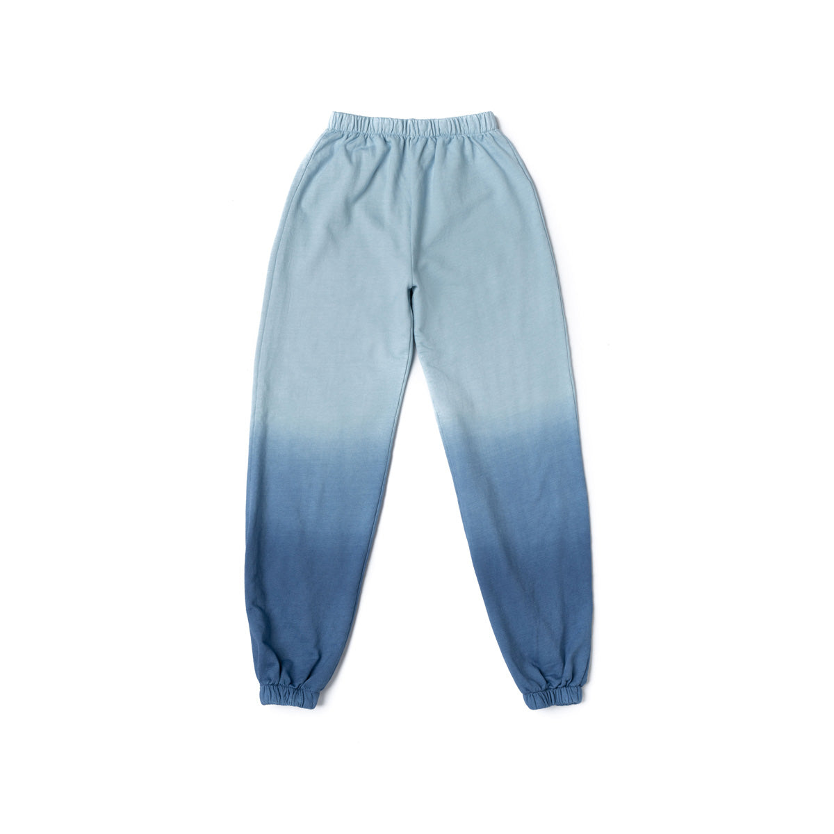 Women's Blue Ombre Tie Dye Sweatpants