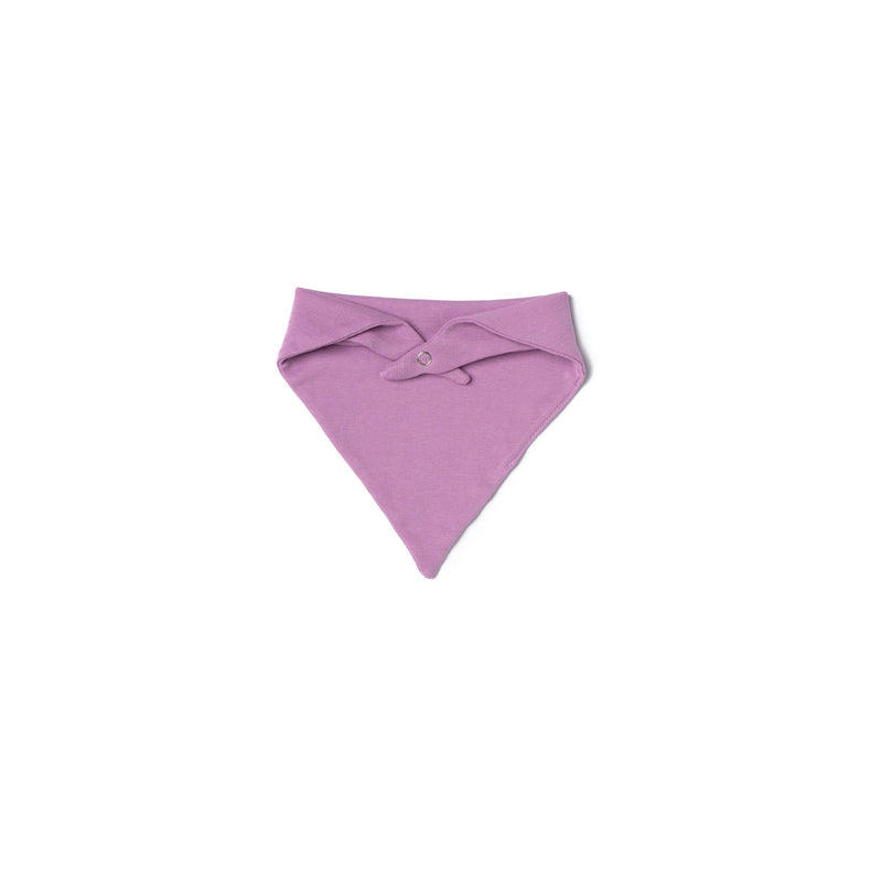 Baby Rib Bandana Bib, Grape