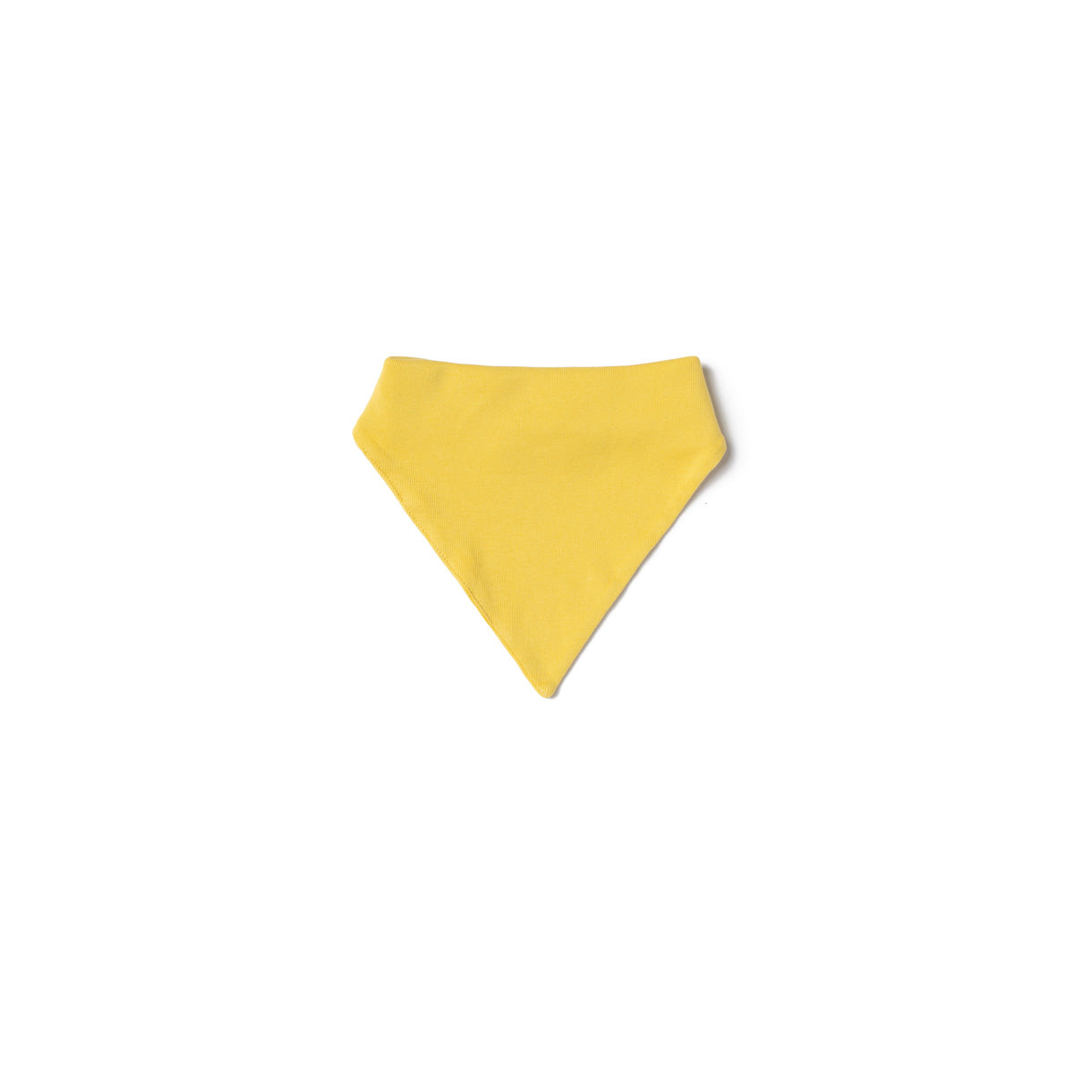 Baby Rib Bandana Bib, Maize Yellow