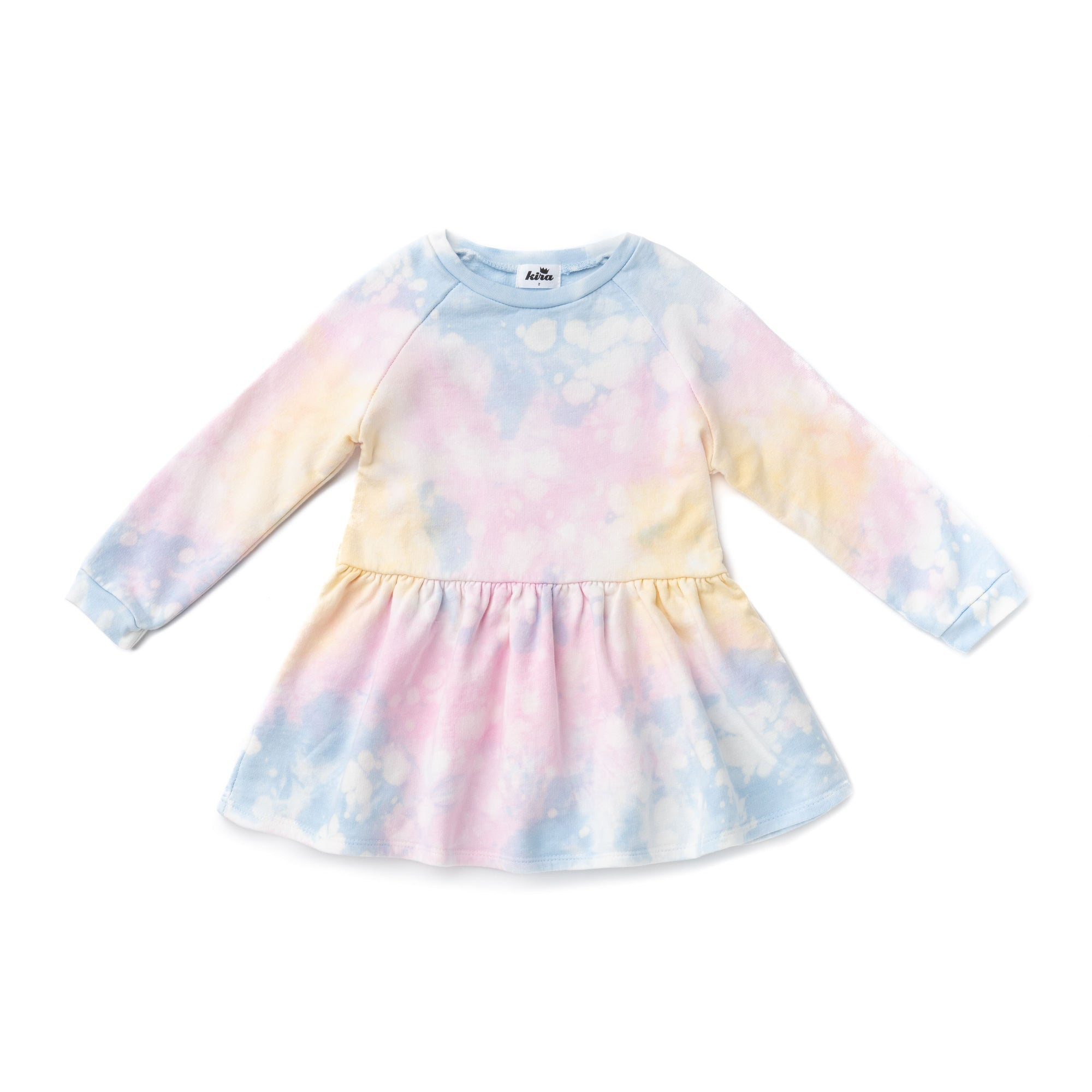 Shave Ice Tie Dye Sweatshirt Dress