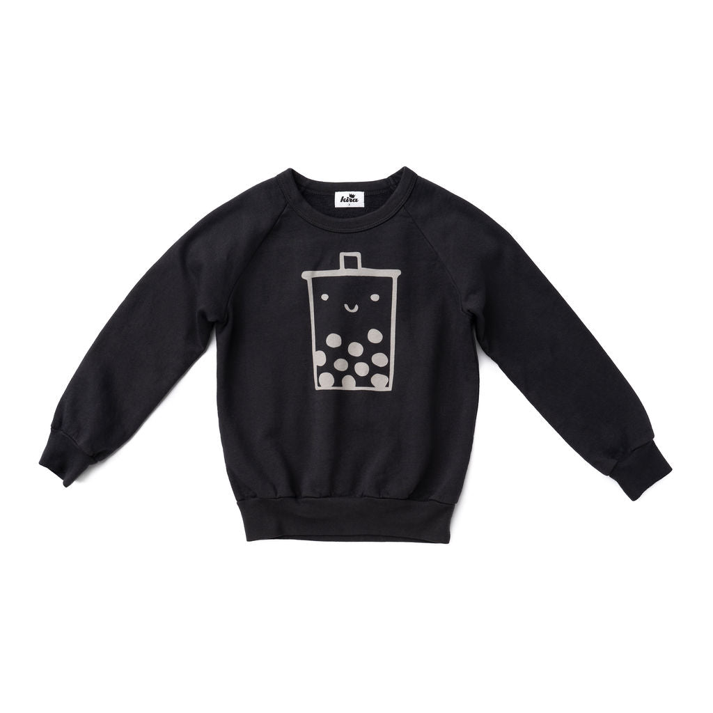 Boba Guy Raglan Sweatshirt, Charcoal