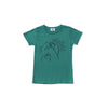Oishii Short Sleeve T-shirt, Dark Turquoise