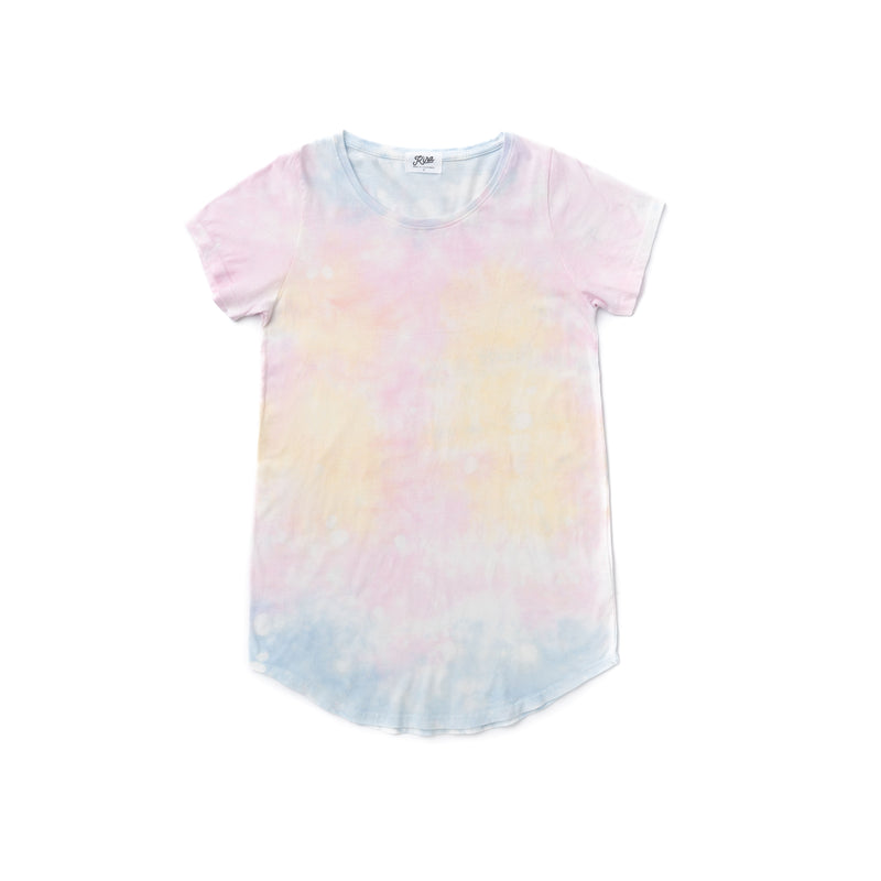 Women's Shave Ice Tie Dye Tunic T-shirt
