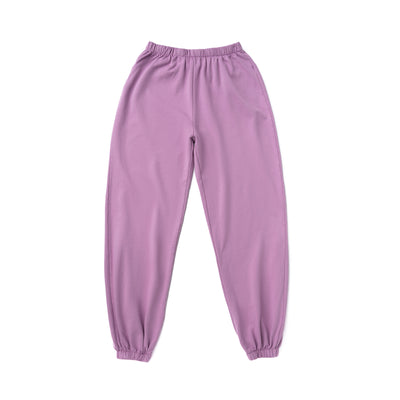 Women's Fleece Sweatpants, Grape