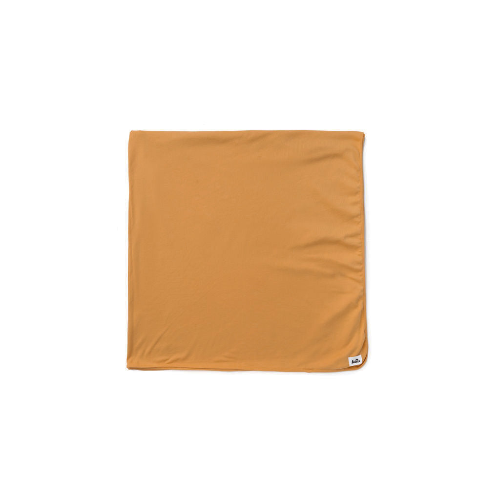 "Earth Brown Swaddle Blanket 47""X47"""
