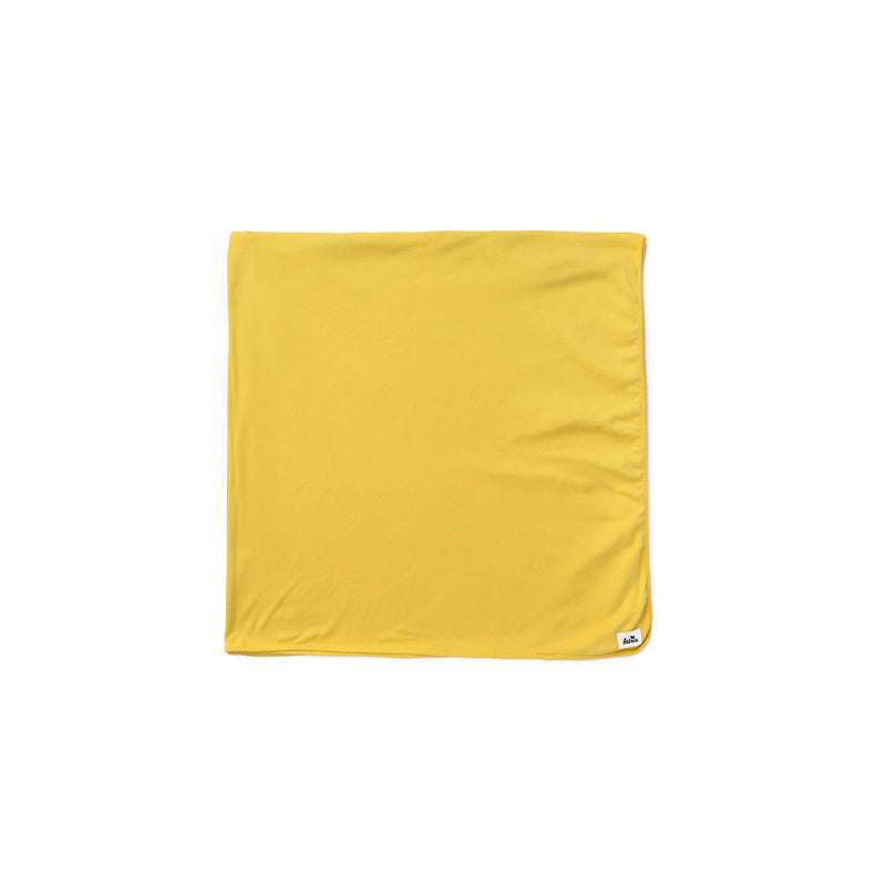 "Yellow Maize Swaddle Blanket 47""X47"""