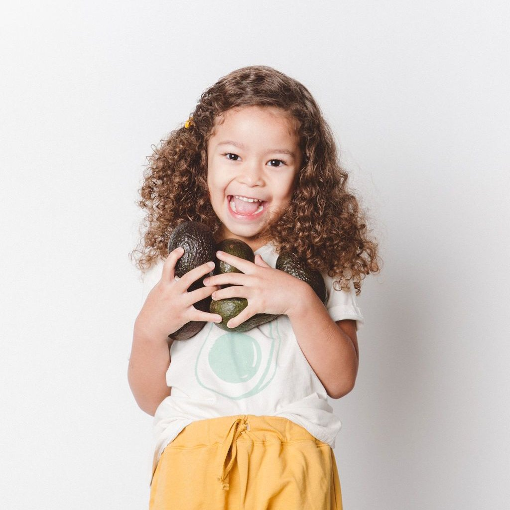 Avocado Babe T-shirt, Natural