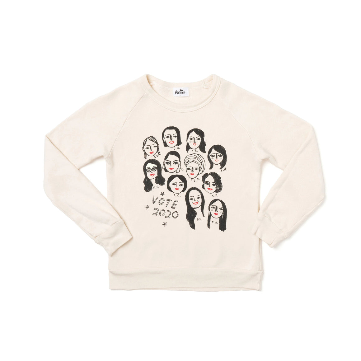 Congresswomen Raglan Sweatshirt | Kids