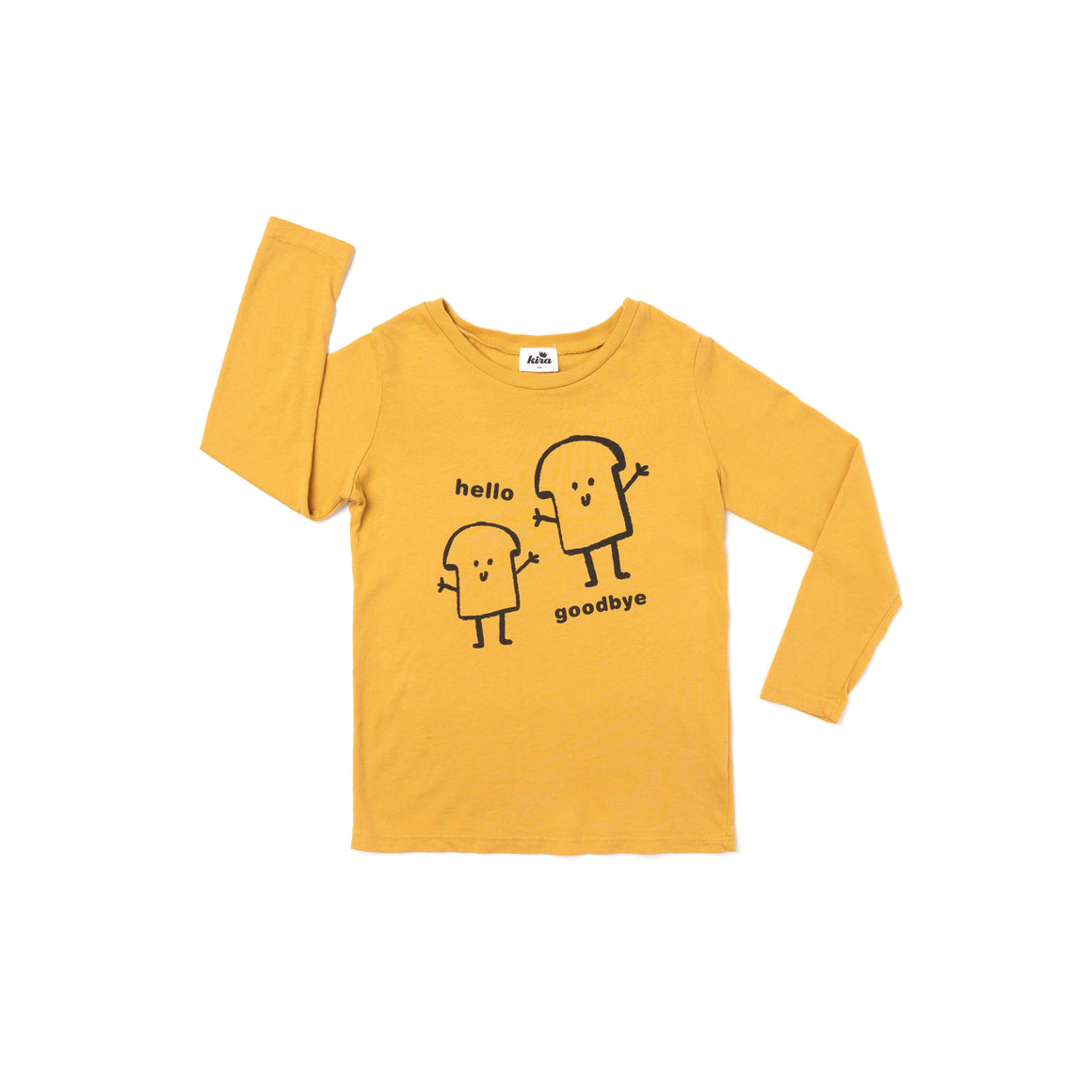 Bread Guys Graphic T-shirt, Long Sleeve, Golden