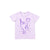 Brady Smith x Kira Narwhal Day Graphic T-shirt, Pastel Violet