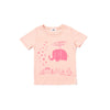 Brady Smith x Kira Heliphant Graphic T-shirt, Blush