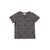 Sloth Print Short Sleeve T-shirt, Slate