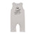 Ukulele Octopus Graphic Tank Jumpsuit, Light Grey