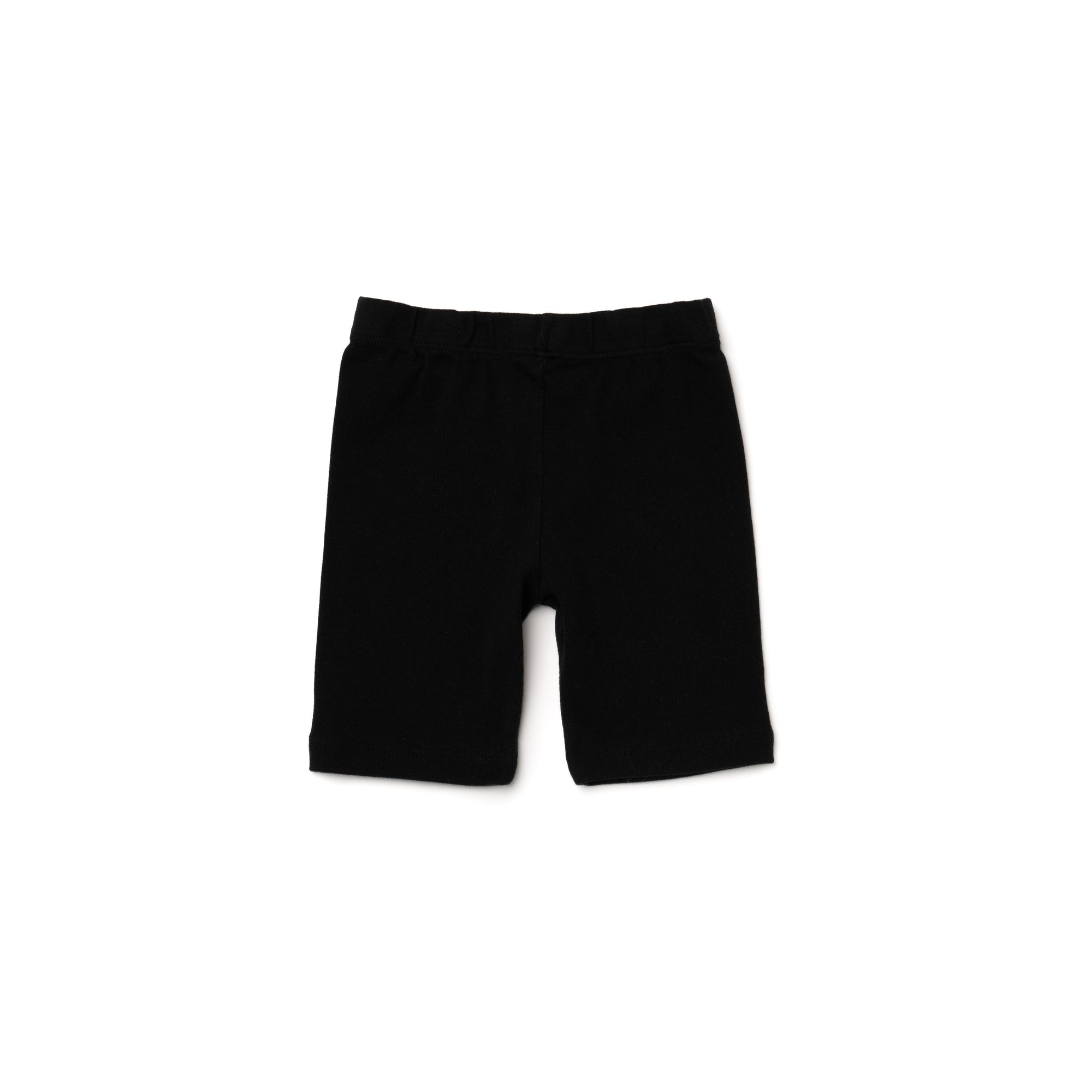 Organic Cotton Bike Shorts, Black