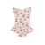 Boba Print Dress Onesie, Powder Pink
