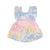 Shaved Ice Tie Dye Pinafore