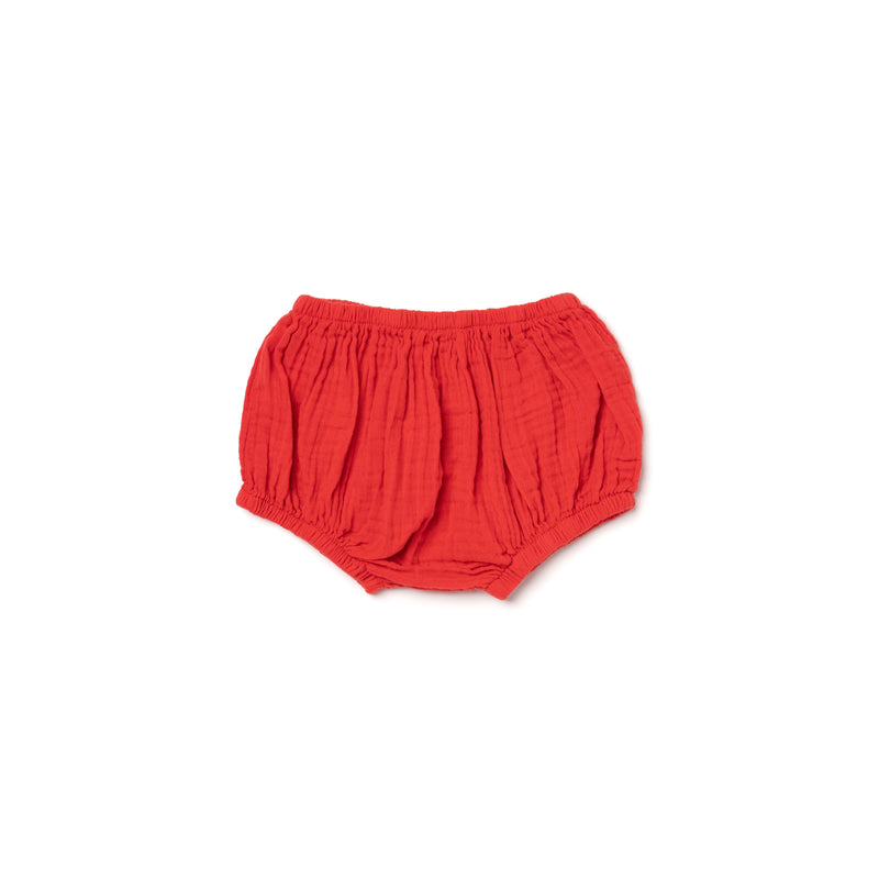 Cotton Gauze Bloomers, Fluro Coral