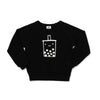 Boba Graphic Raglan Sweatshirt, Black