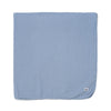"Cotton Gauze Swaddle Blanket 47"" x 47"", Stone Blue"