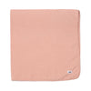 "Cotton Gauze Swaddle Blanket 47"" x 47"", Blush"
