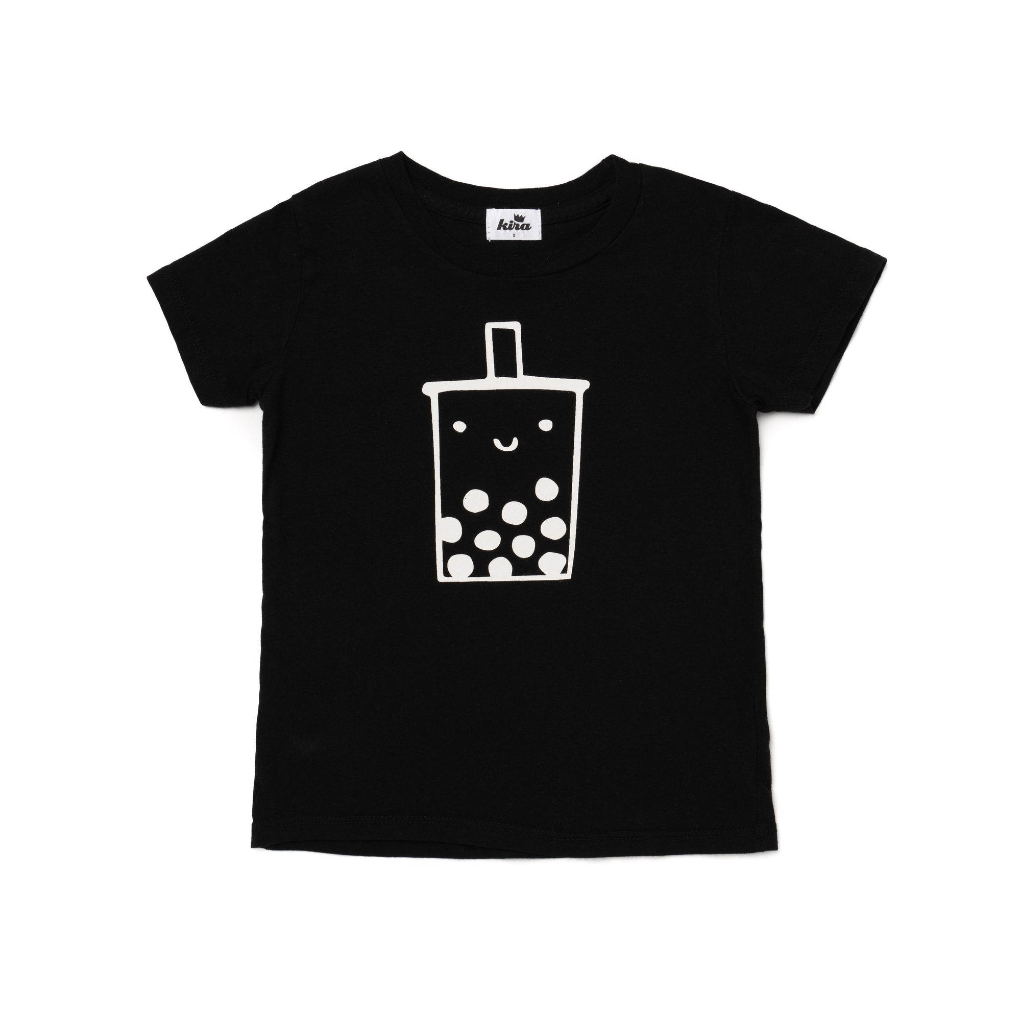 Boba Graphic Short Sleeve T-shirt, Black