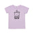 Boba Graphic Short Sleeve T-shirt, Pastel Violet
