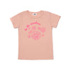 Sunshine Daisies Graphic Short Sleeve T-shirt, Blush