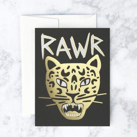 Idlewild Co: RAWR! Card