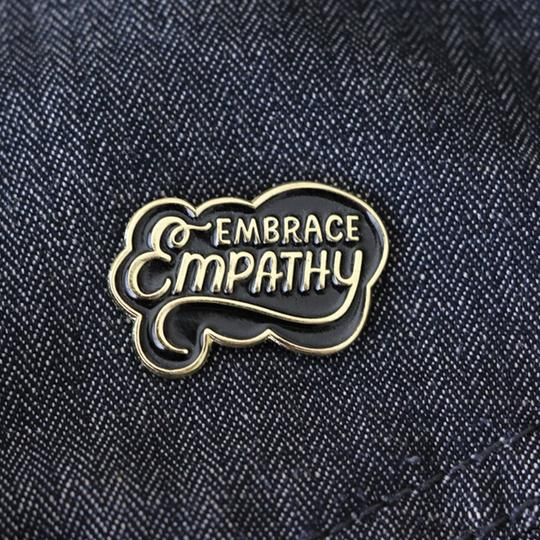 Paper Parasol Press: Embrace Empathy Lapel Pin