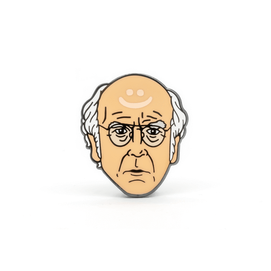 PSA Press: Larry David Pin