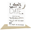People I've Loved: Date You Card
