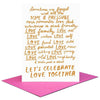 People I've Loved: Let's Celebrate Card