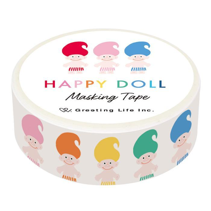 Greeting Life America: Happy Doll Washi Tape