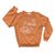 Miffy x Kira Bike SF Raglan Sweatshirt, Copper