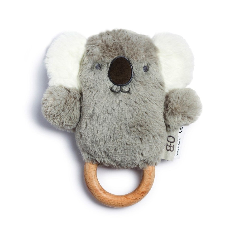 O.B. Designs: Grey Koala Wooden Teether