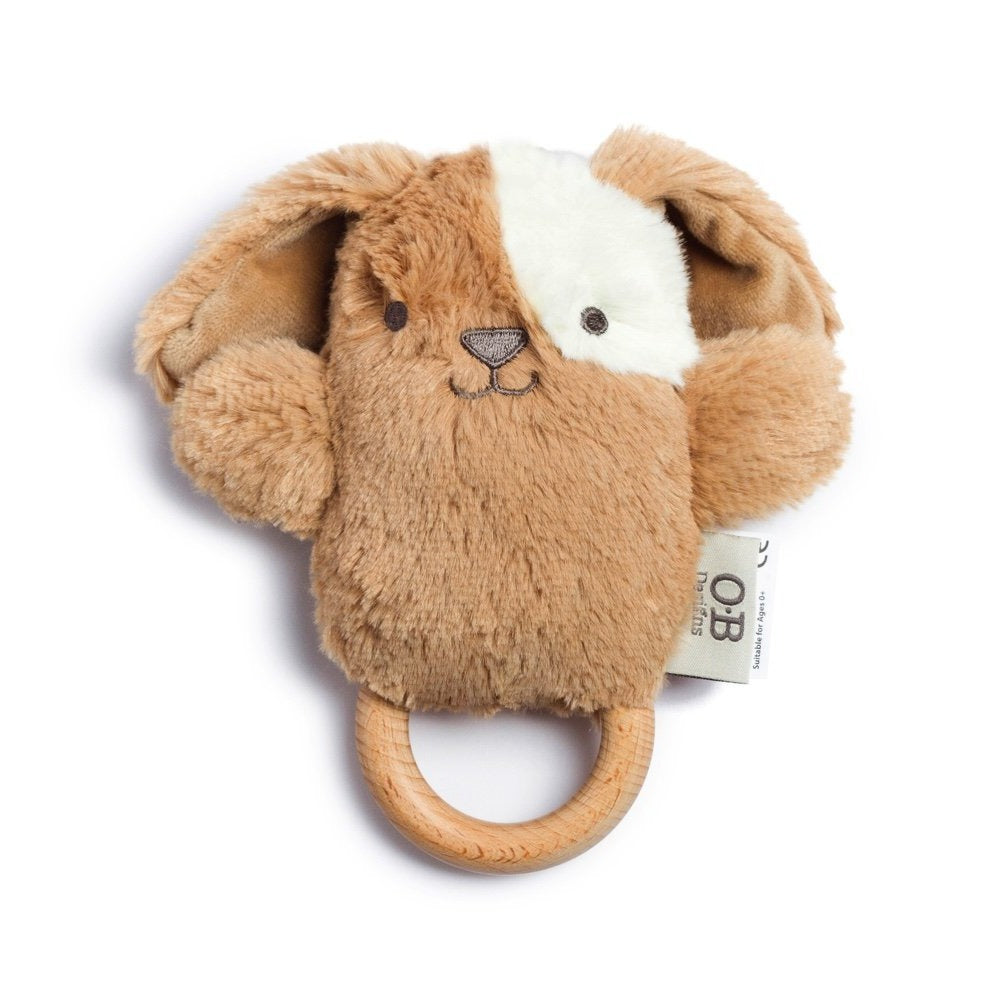 O.B. Designs: Duke Dog Wooden Teether