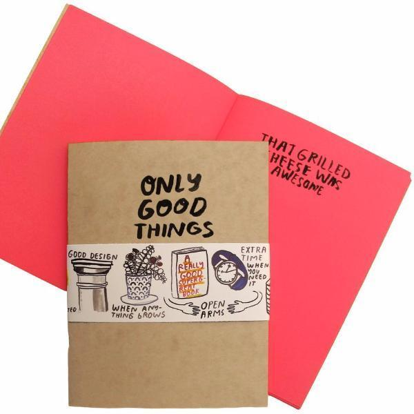People I've Loved: Only Good Things Notebook