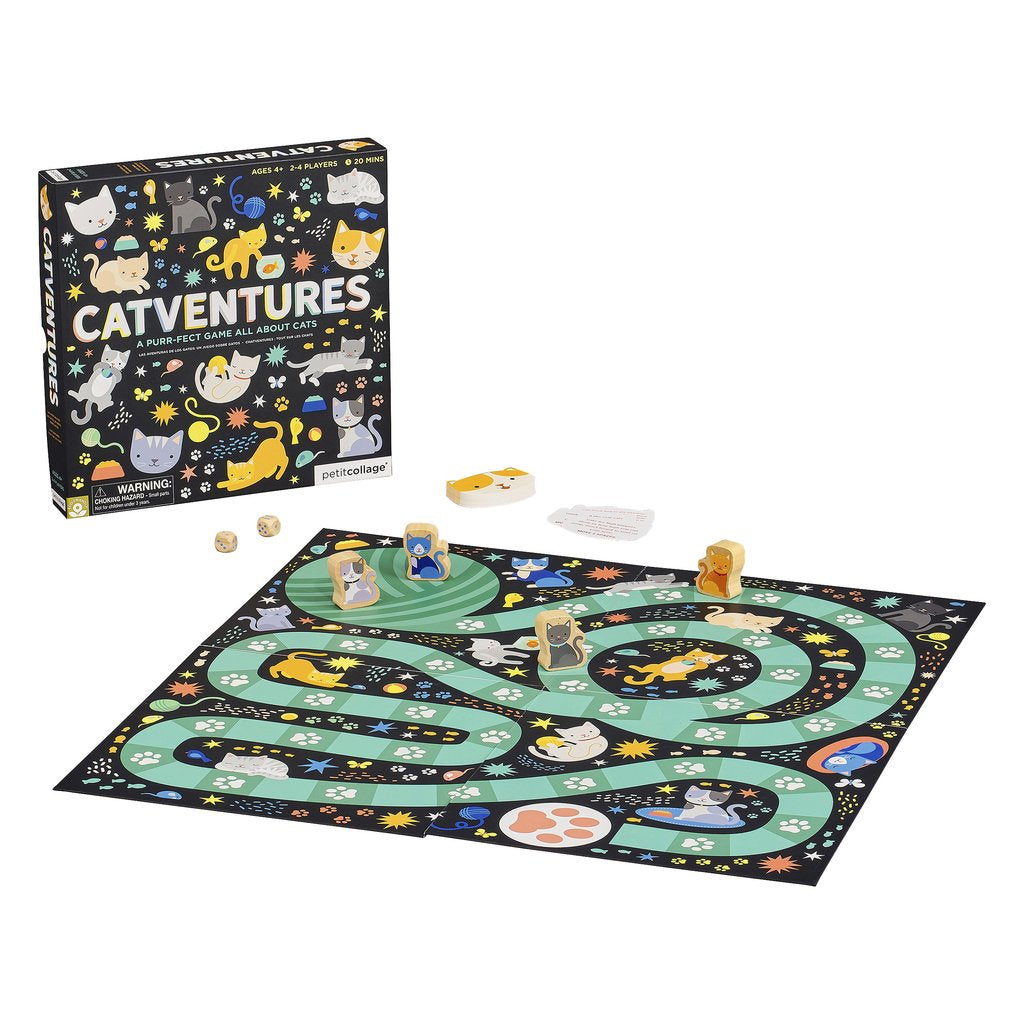 Petit Collage: Catventures Board Game