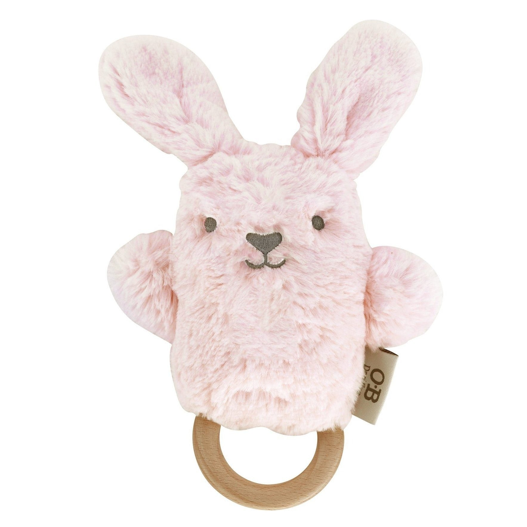 O.B. Designs: Betsy Bunny Wooden Teether