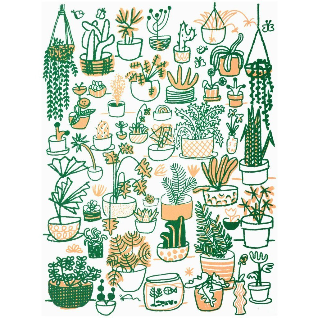 People I've Loved: Plant Family Print